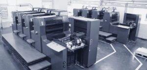 Tipografia Brescia, Reparto Stampa Centro Copie, Macchine Da Stampa Piccolo Formato Buste