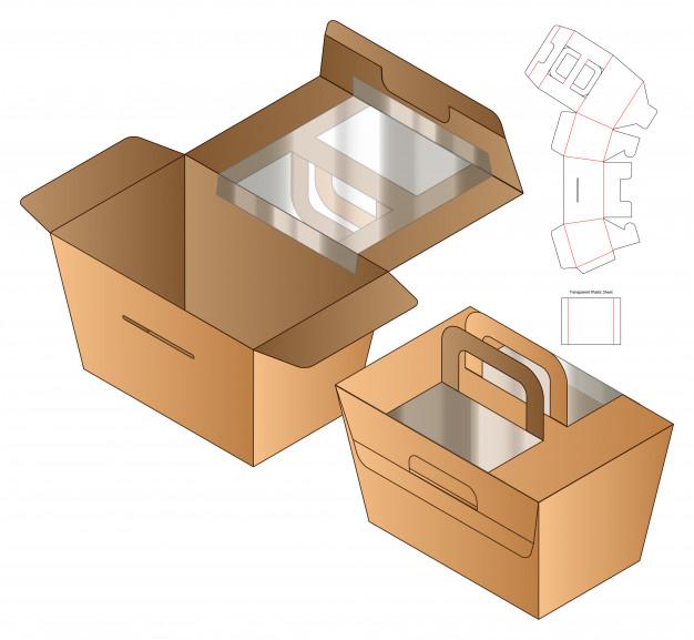 Box Packaging Die Cut Template Design 3D 37787 2730