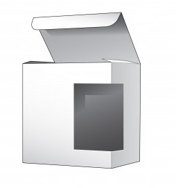 Retail Box With Side Window Die Cut Template 75474 1850