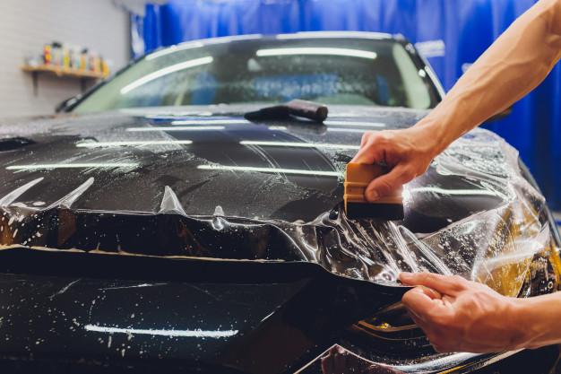 Car Wrapping A Brescia